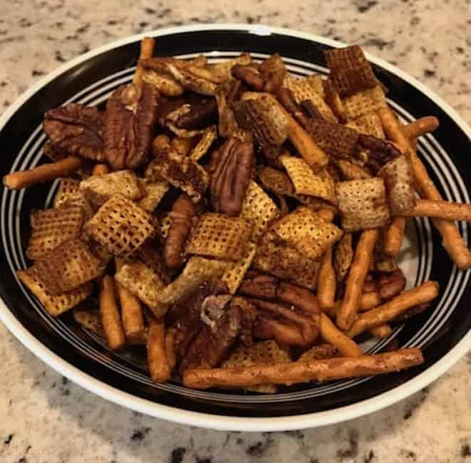 Chex Party Mix - Gluten-Free and Spicy