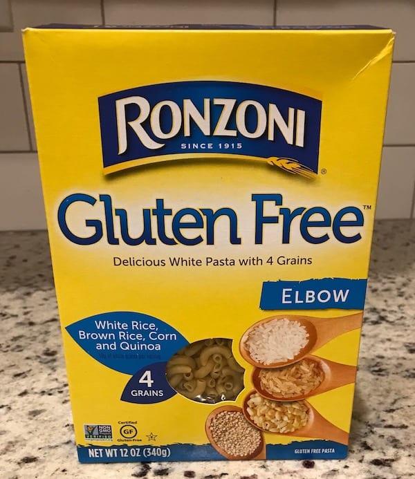 Gluten-free elbow macaroni tastes just as good as regular.