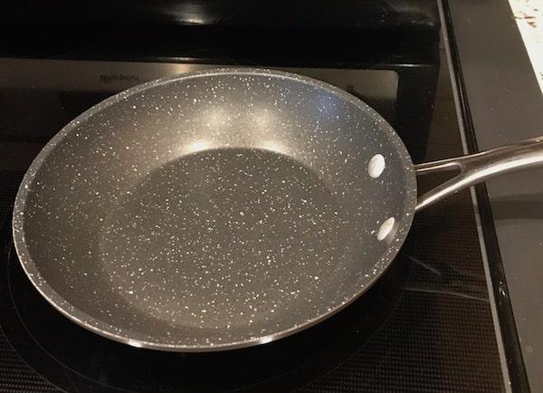 "Small 8"" nonstick frying pan"