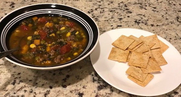 Homemade Vegetable Soup