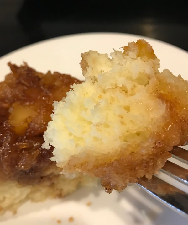 Rice Cooker Pineapple Upside Down Cake
