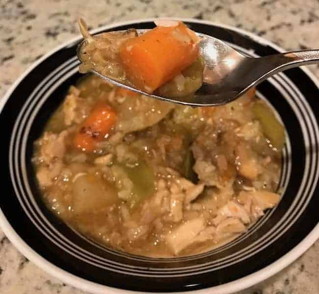 Crockpot Chicken Stew for Two
