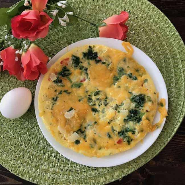 Rice Cooker Frittata