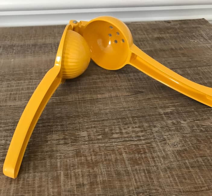 A citrus squeezer is a handy gadget for those times when you need just a little bit of juice.