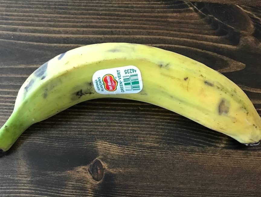 Whole plantain