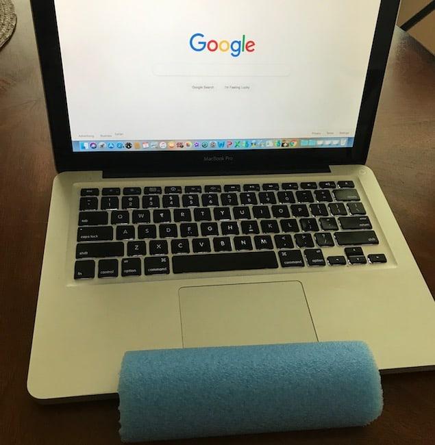 Computer wrist pad