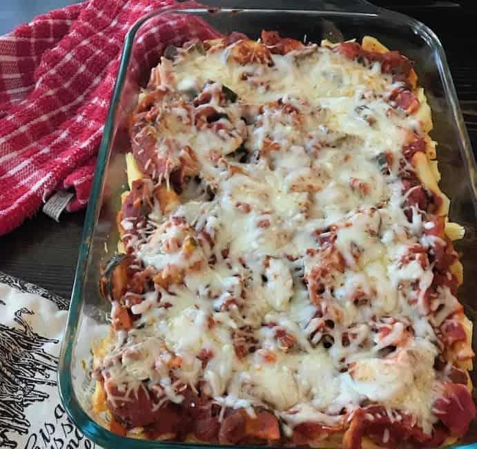 Italian Chicken Zucchini Casserole