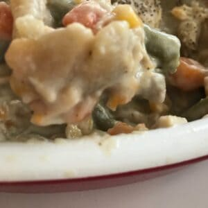 Chicken Pot Pie is a delicious one-dish meal that is easy to prepare.