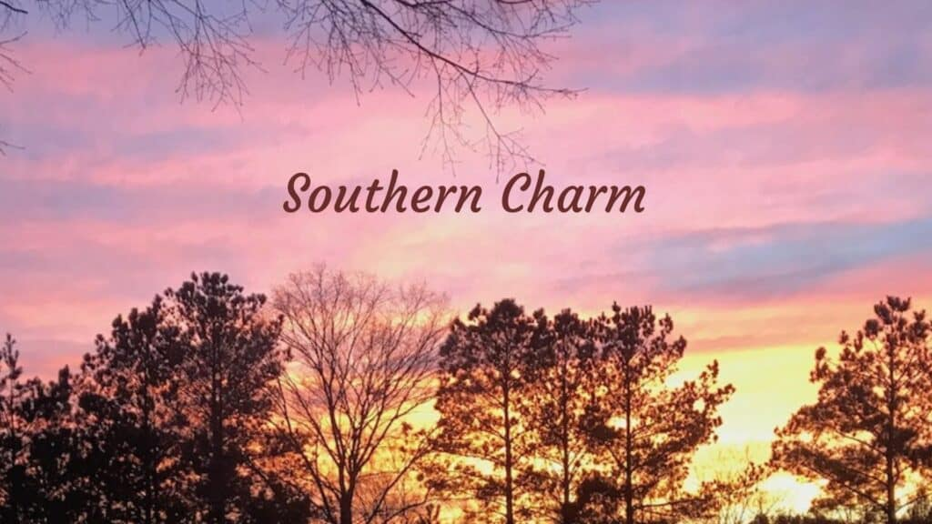 When you go to the South, you'll encounter plenty of southern charm.