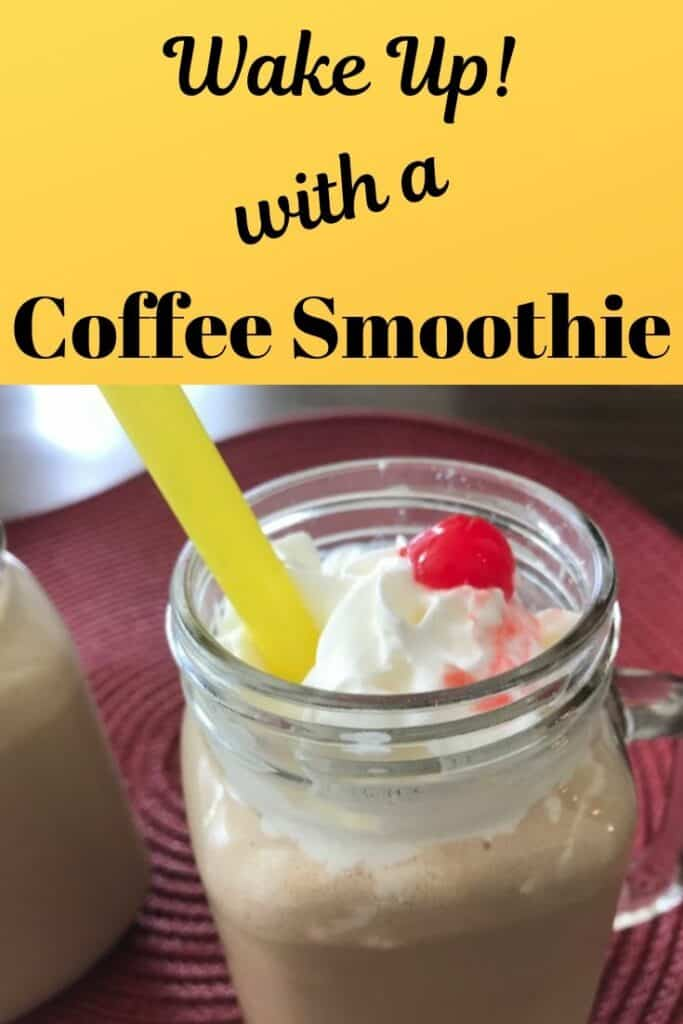 Wake up with a frozen coffee smoothie