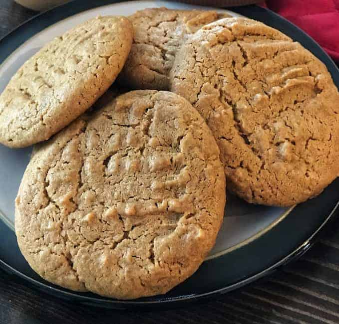 Peanut Butter Cookies Without Flour