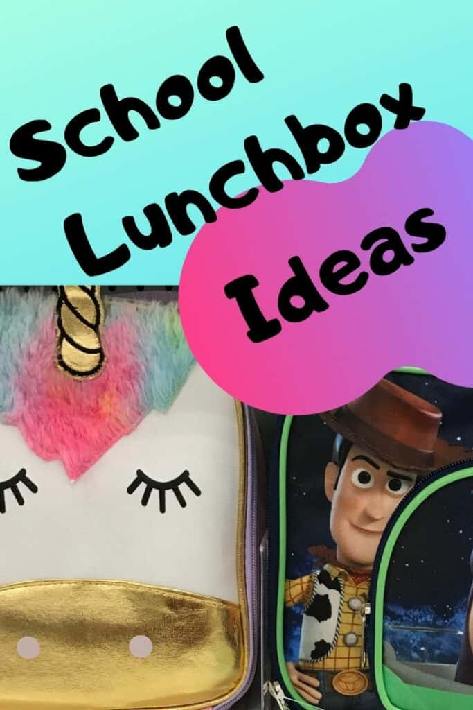 School lunchbox ideas with 2 lunchboxes