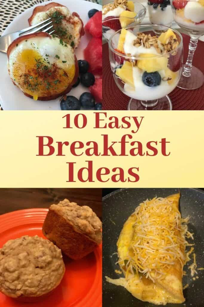 4 of the 10 easy breakfast ideas
