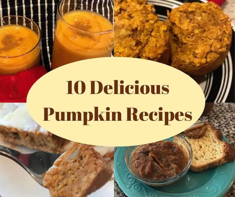 4 of 10 delicious pumpkin recipes