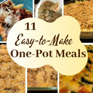 11 easy-to-make one-pot meals
