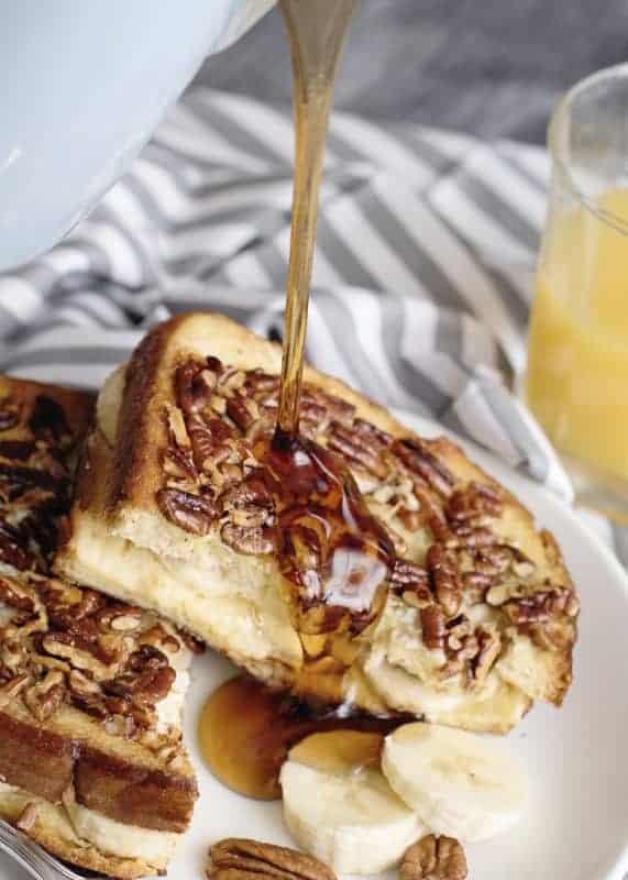 Mama's Banana Pecan French Toast