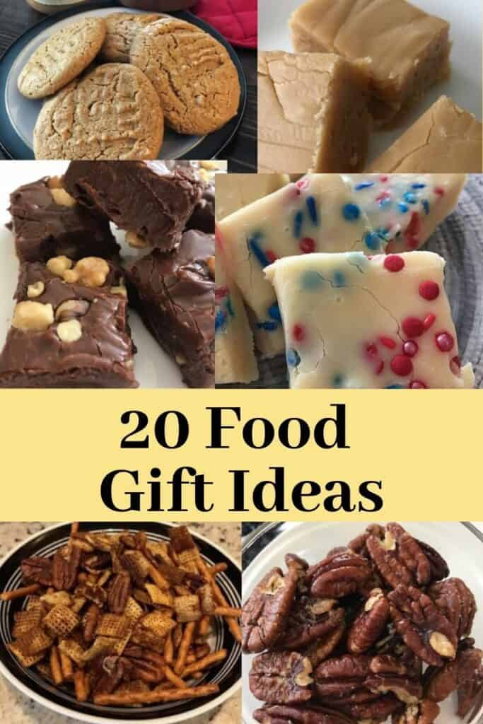 20 food gift ideas with pictures of foods