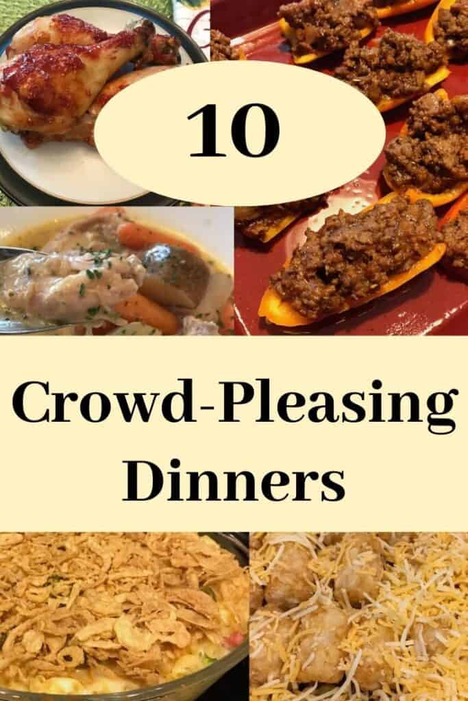 10 crowd-pleasing dinners
