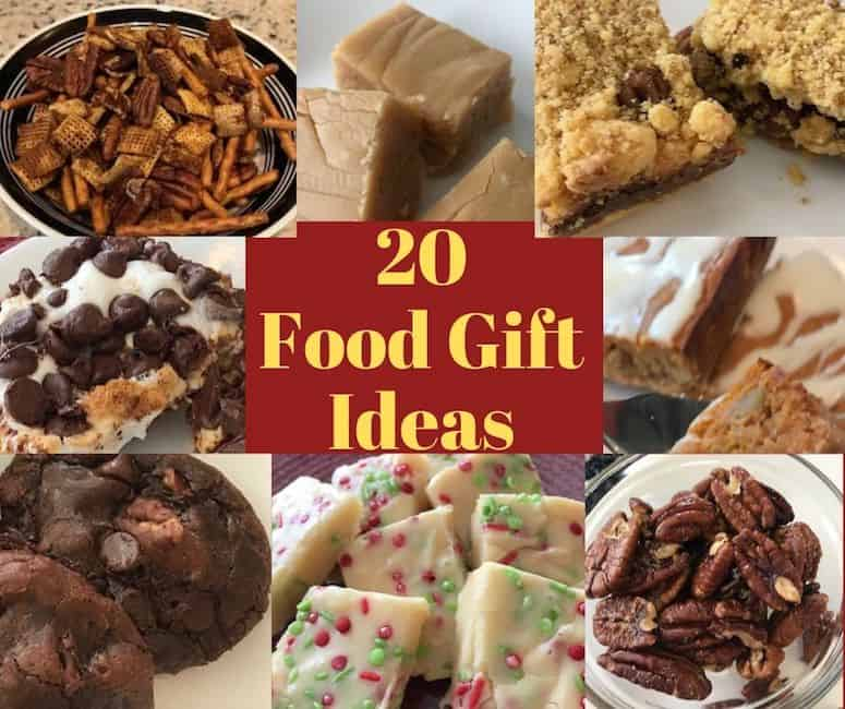 20 food gift ideas with pictures of food