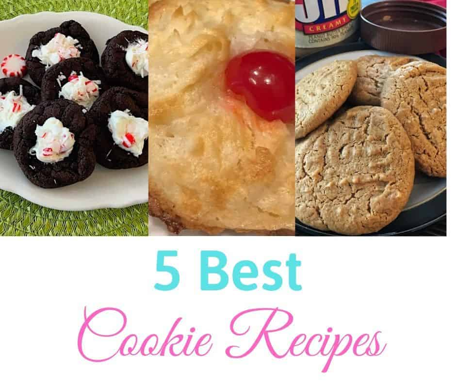 5 best homemade cookie recipes