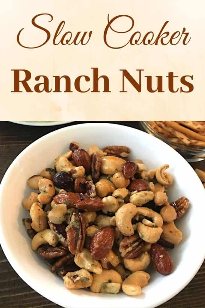 Slow Cooker Ranch Nuts