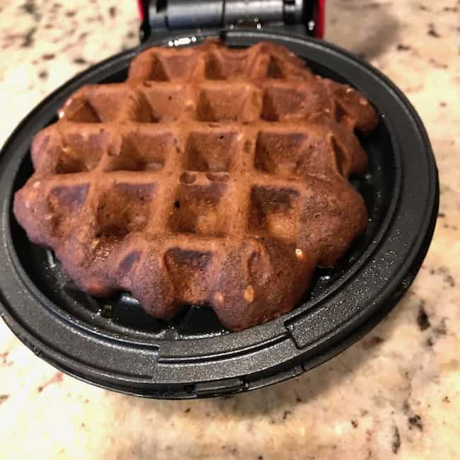 Cooked chaffle