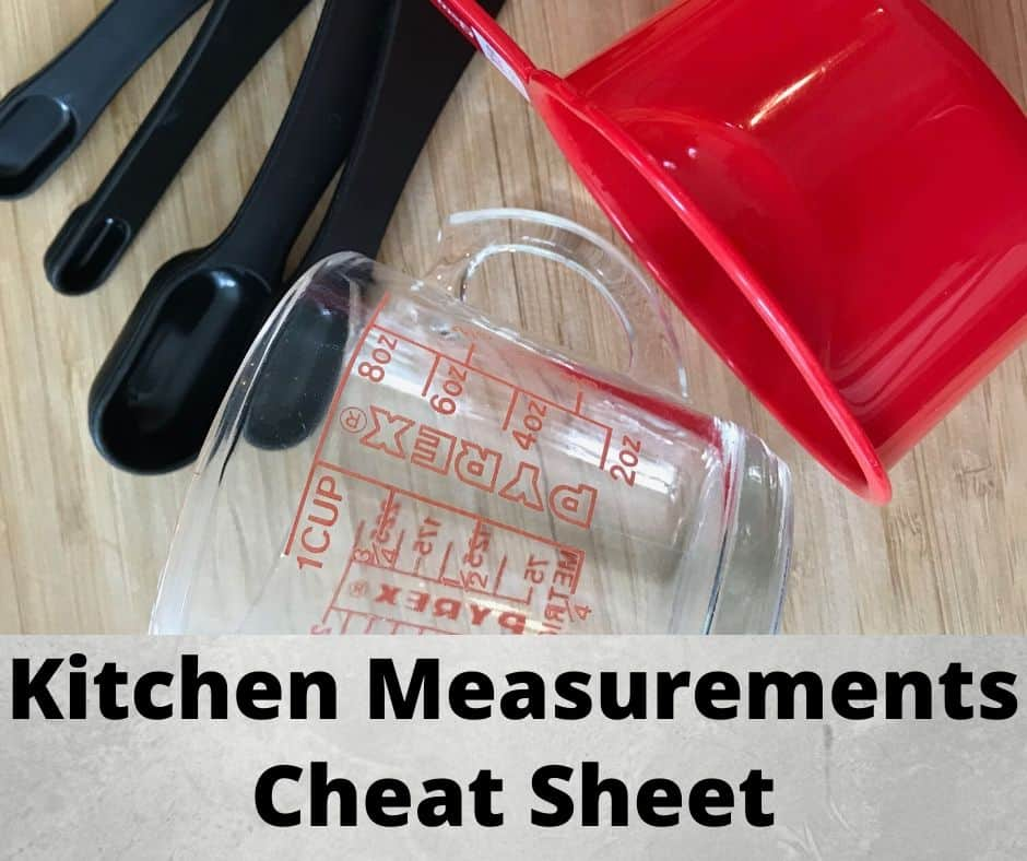 Measuring cups and measuring spoons for accurate kitchen measurements
