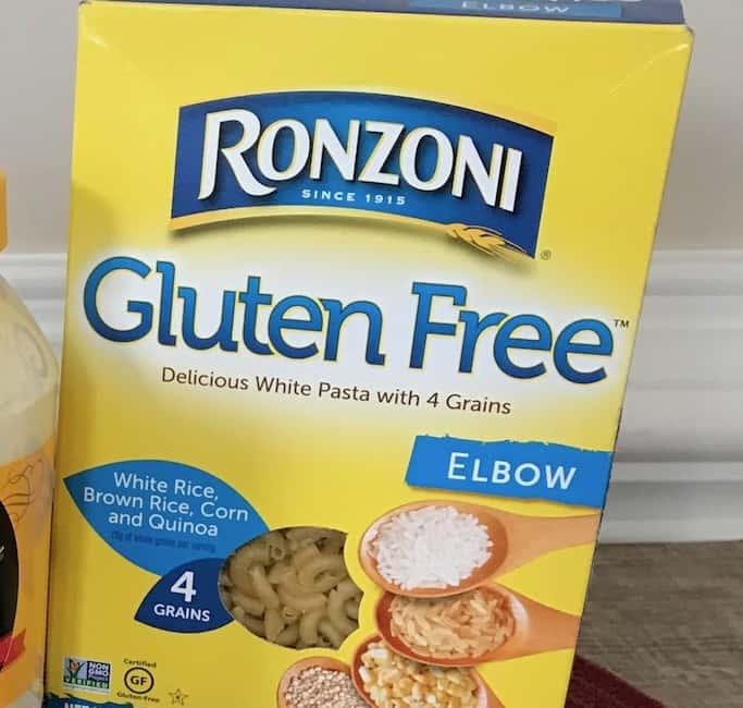 Gluten-free elbow pasta