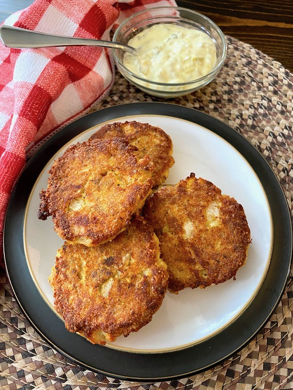 Oven-Fried Salmon Cakes