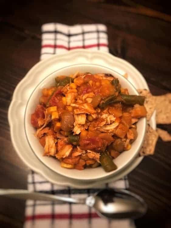 Bowl of Brunswick stew