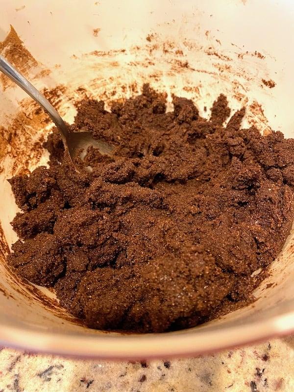 Chocolate cookie dough