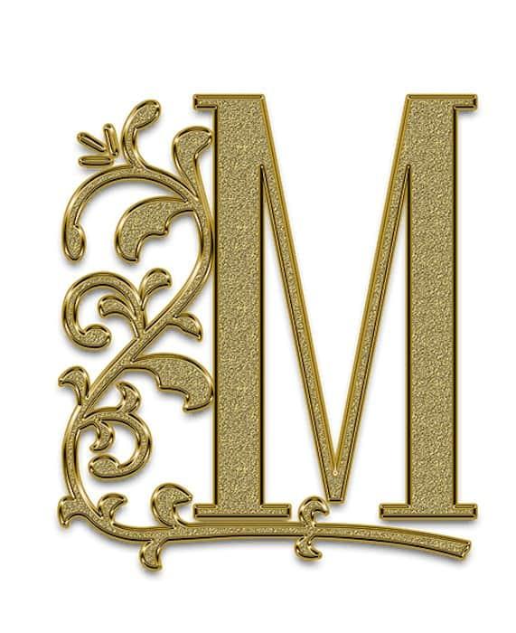 """Monogram """"M"""""""