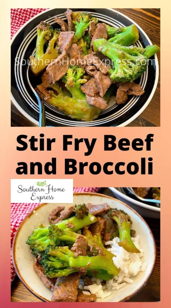 2 bowls of stir fry beef and broccoli