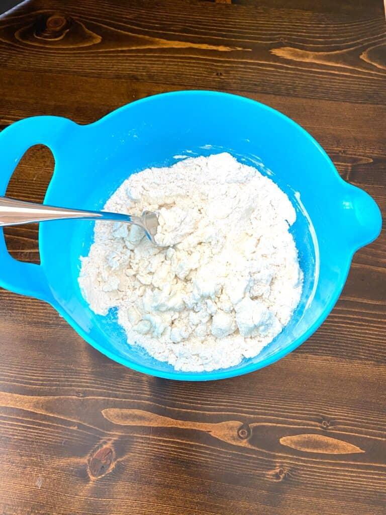 bowl of dough