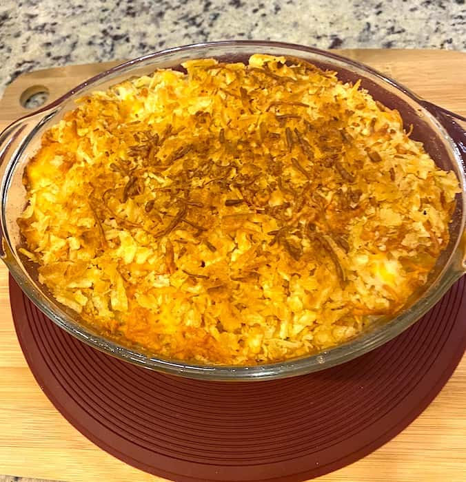 cooked chicken noodle casserole