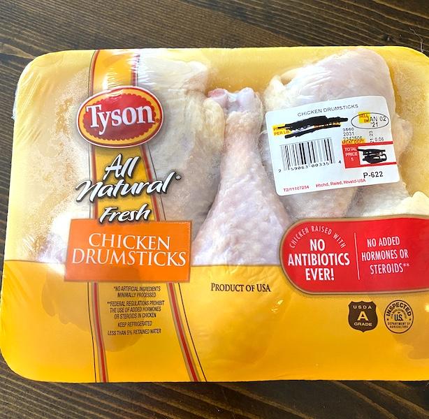 pack of chicken