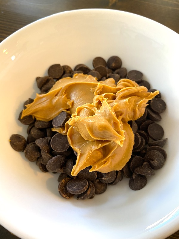peanut butter and chocolate chips