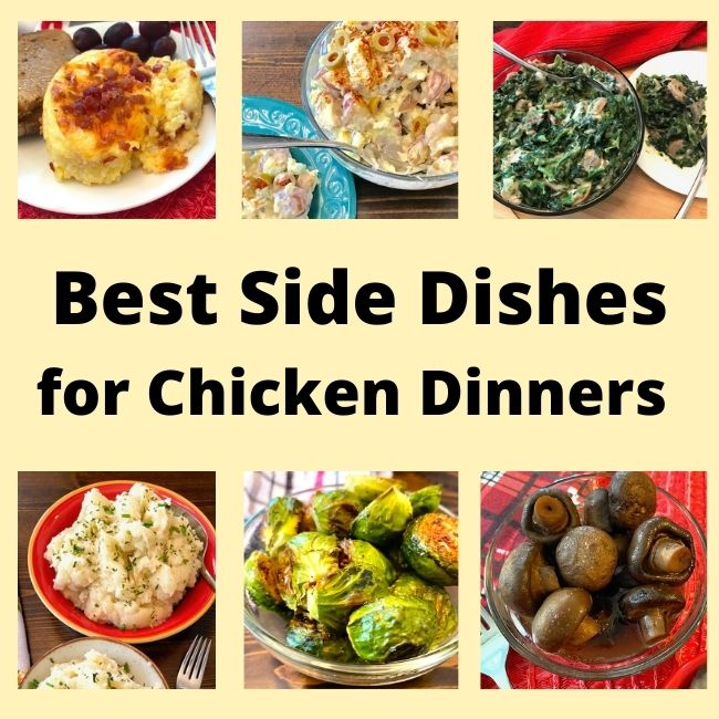variety of side dishes, vegetables, and salads