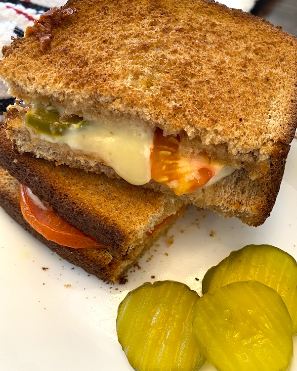 grilled cheese sandwich - great to serve with a bowl of potato soup