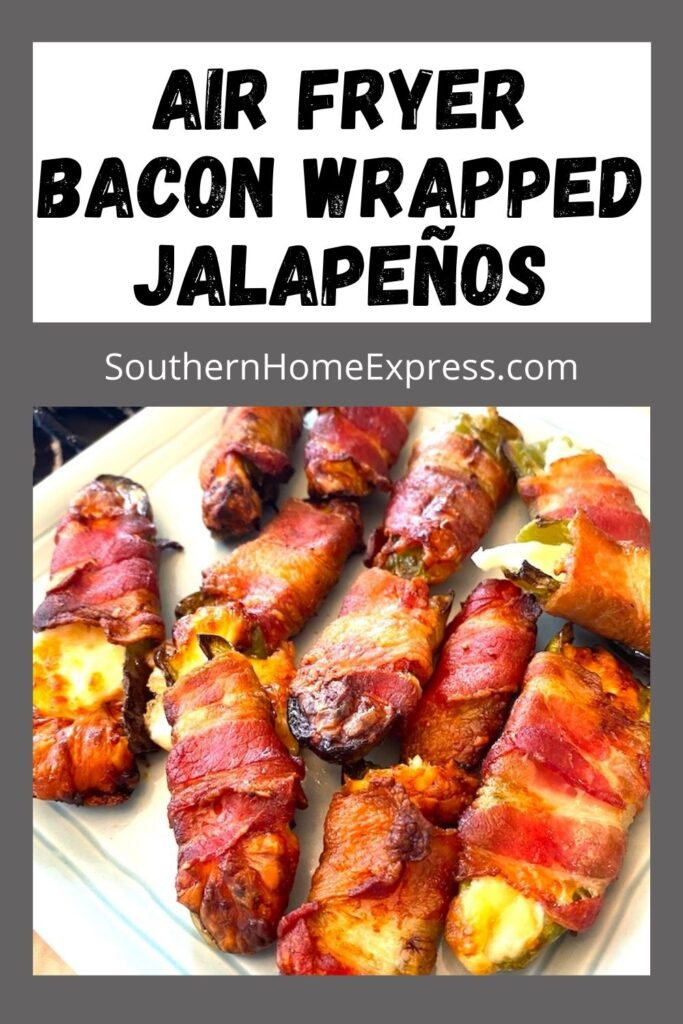 platter of bacon wrapped jalapenos