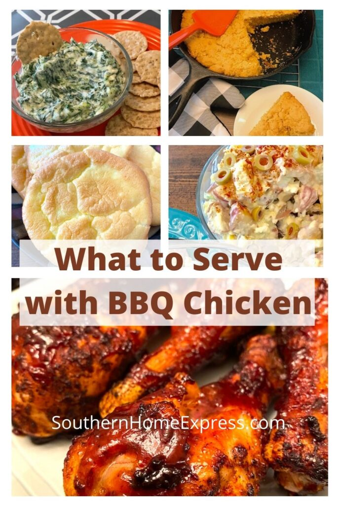 bbq chicken with sides you can serve