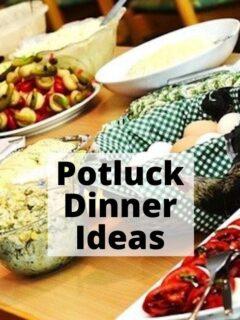 potluck dinner ideas