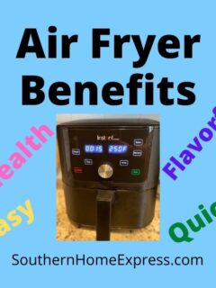 air fryer with benefits list