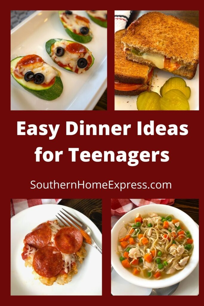 variety of foods that are easy dinner ideas for teenagers