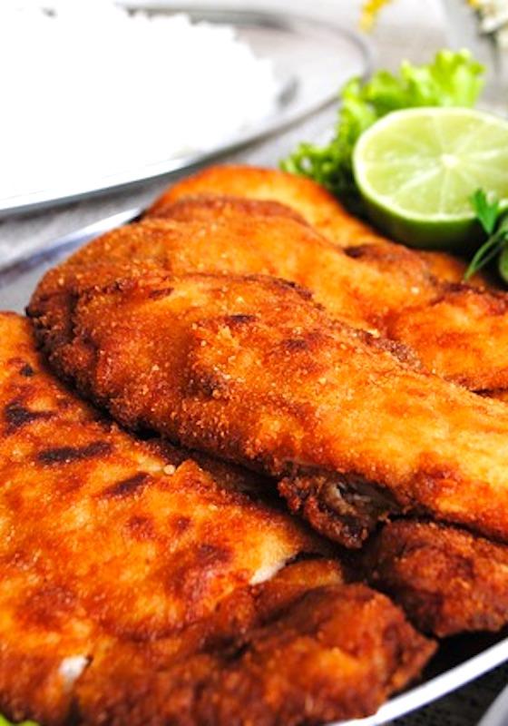 plate of fried tilapia